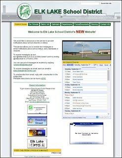 Elk Lake website link will open in a new window.